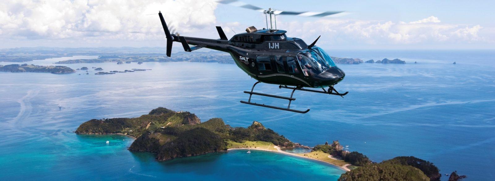Salt Air helicopter flights